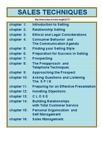 Praktische Vaardigheden Ontwikkelen Sales Techniques