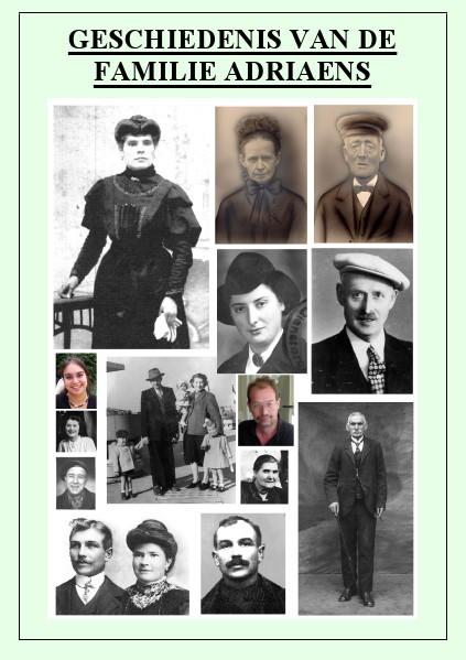 Geschiedenis van de Familie Adriaens