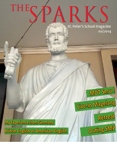 The Sparks Magazine 1st Edition, 2014
