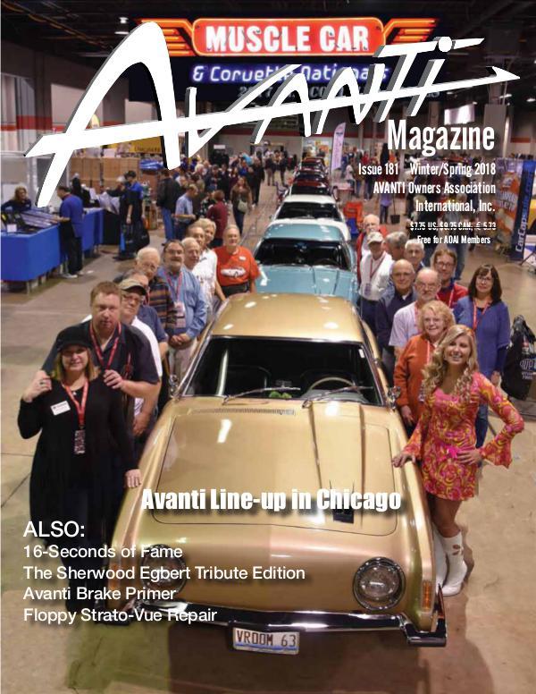 Avanti Magazine Winter/Spring 2018 #181