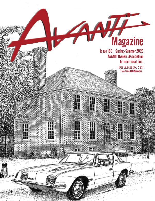 Avanti Magazine Spring/Summer 2020 #190