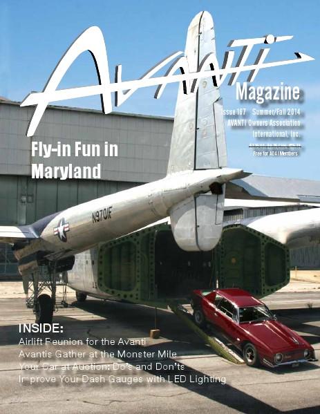 Avanti Magazine Summer/Fall 2014 #167
