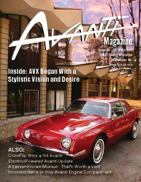 Avanti Magazine Fall/Winter 2014  #168