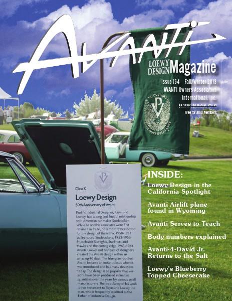Avanti Magazine Fall/Winter 2013 #164
