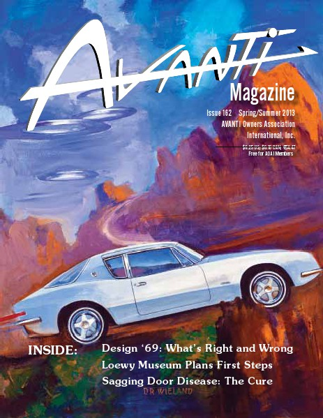 Avanti Magazine Spring/Summer 2013 #162