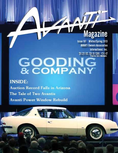 Avanti Magazine Winter/Spring 2013 #161