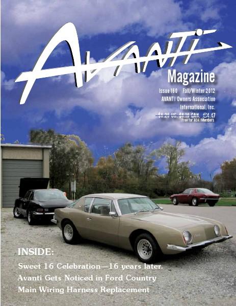 Avanti Magazine Fall/Winter 2012 #160