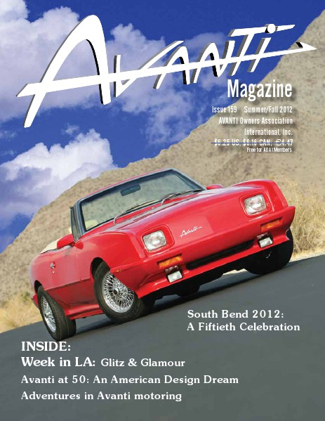 Avanti Magazine Summer/Fall 2012 #159
