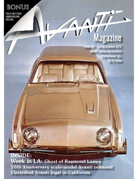 Avanti Magazine Spring/Summer 2012 #158