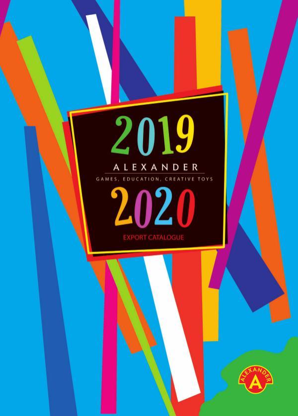 Alexander Games & Toys Export Catalogue 2018-19 Alexander.Games.Toys.Export.Cat.2019
