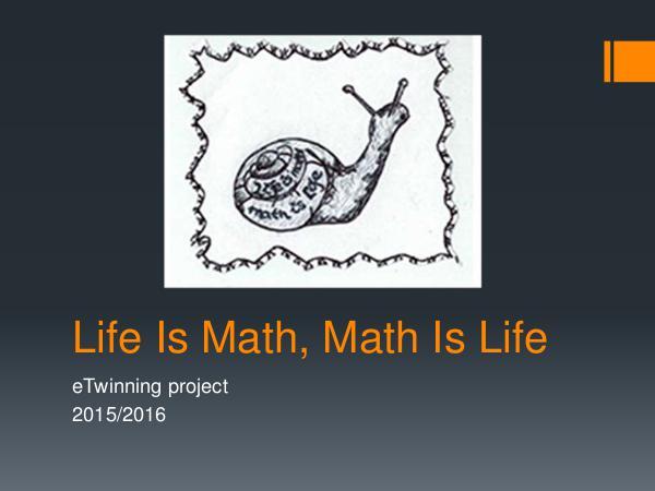 Jelena Kenić - Life Is Math, Math Is Life Life Is Math, Math Is Life