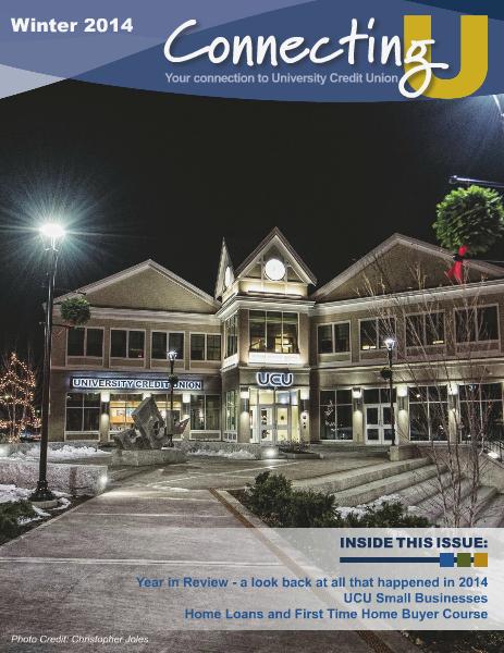 ConnectingU, Winter 14-15 Dec. 2014