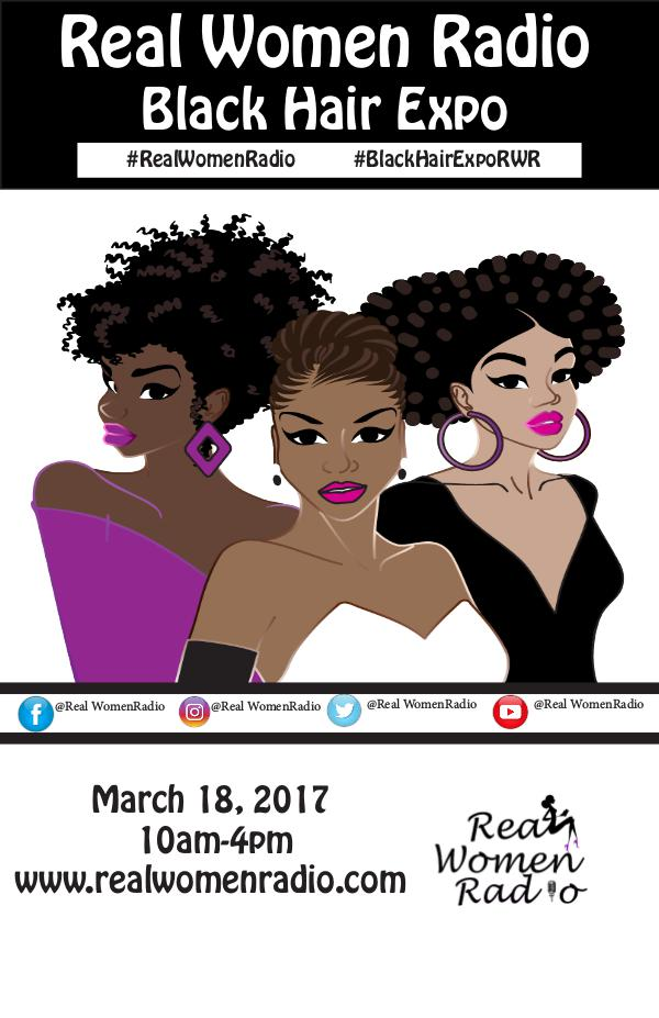 Real Women Radio Black Hair Expo 1