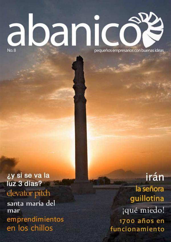 Revista Abanico por Gaudium Ecuador Revista Abanico Ed. 8 - Noviembre 2016