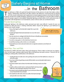 Bathroom Safety Guide For Seniors