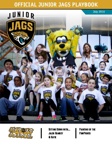 Jacksonville Jaguars Junior Jags Playbook 7