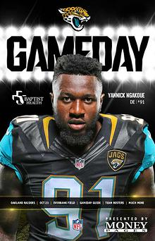 Jacksonville Jaguars Gameday Newsletter
