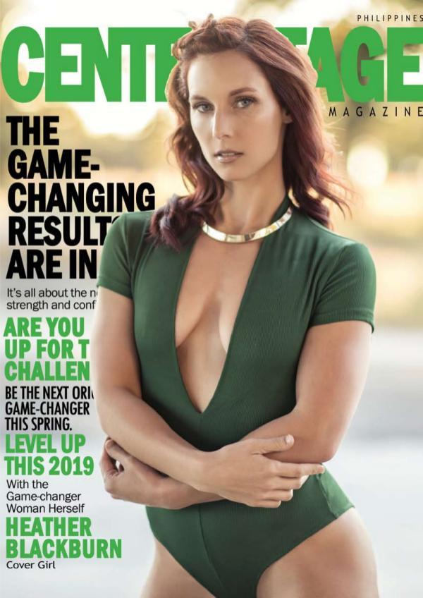 2019 GAME-CHANGER ISSUE - Heather Blackburn