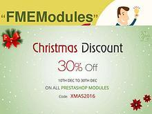 Christmas Sales Offer 2016 to get PrestaShop Modules