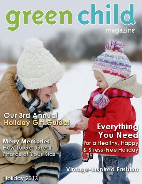Green Child Magazine Holiday 2013
