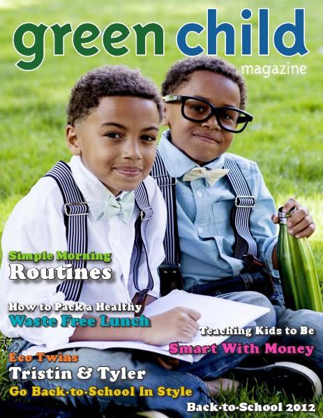 Green Child Magazine Back-to-School 2012
