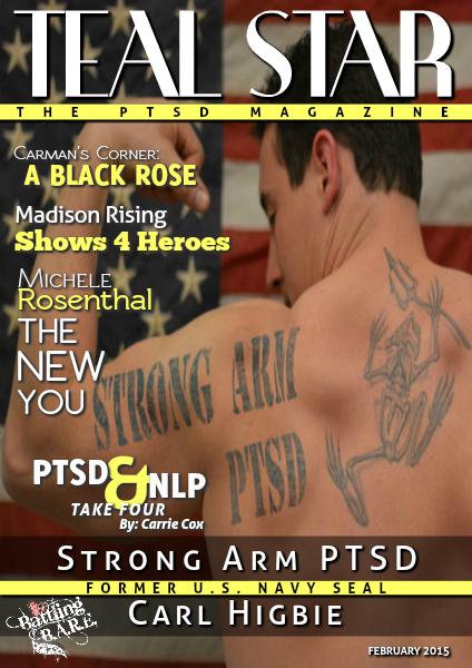 Battling BARE's Teal Star: The #PTSD Magazine February 2015