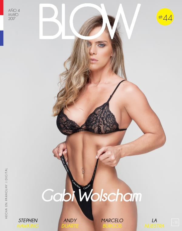 Revista Blow 2017 Mayo #44