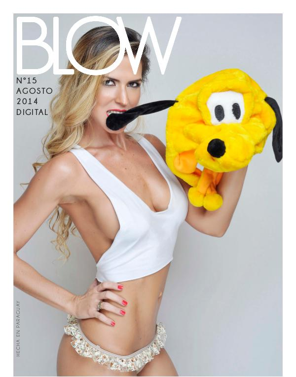 Revista Blow 2014 Agosto #15