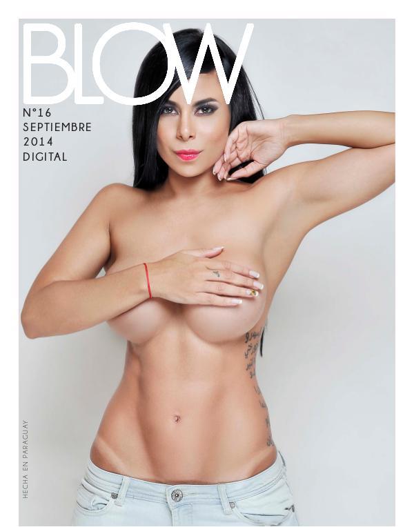 Revista Blow 2014 Setiembre #16
