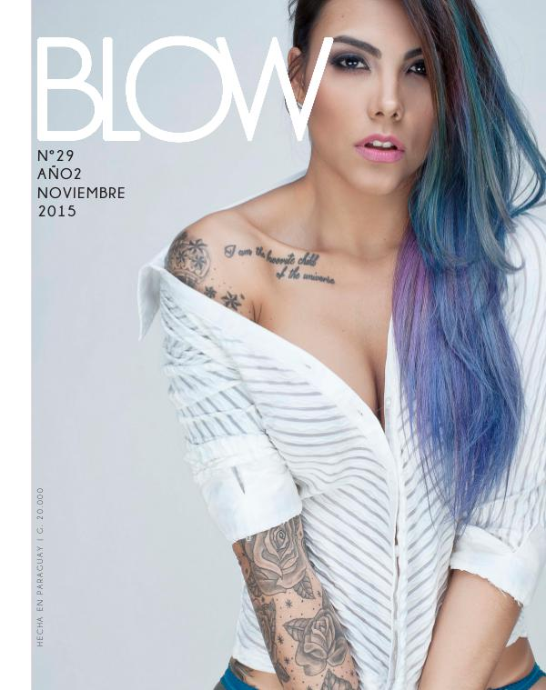 Revista Blow 2015 Noviembre #29