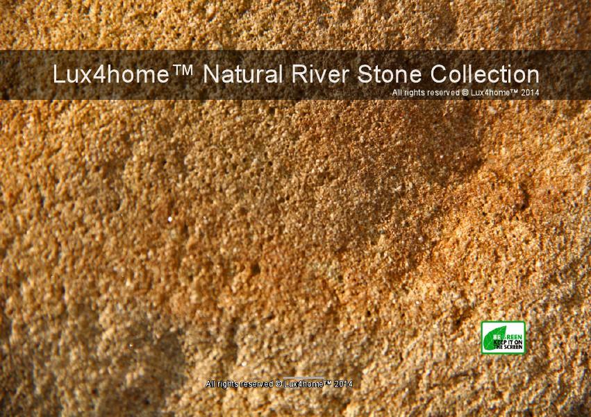 River Stone Sinks