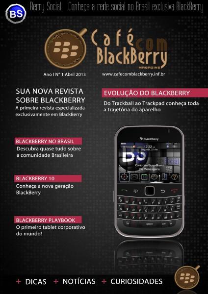 Café com BlackBerry Edição 1, Abril 2013