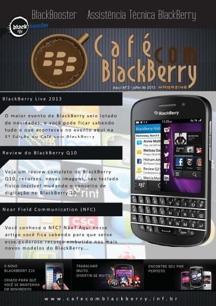 Café com BlackBerry Edição 2, Julho 2013