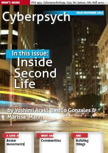 Second Life Nov. 2012