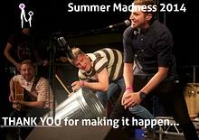 Summer Madness Christmas Greetings