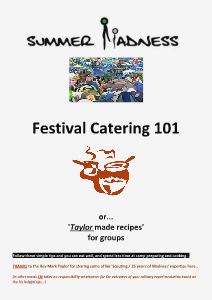 SM leaders' resources Catering 101