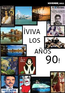 iViva los años 90! noviembre, 2012