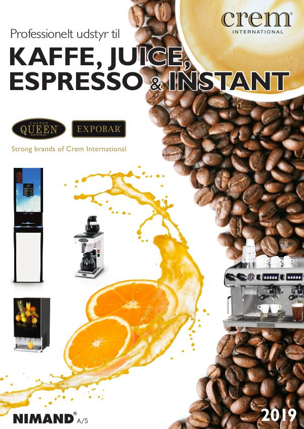 Nimand A/S Coffee Queen og Expobar fra Crem International