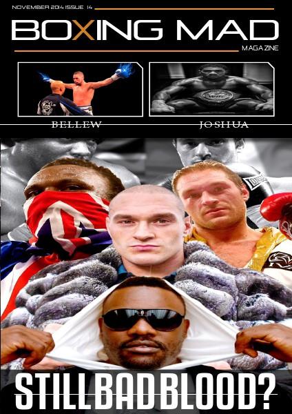 Boxing Mad Magazine November 1st issue