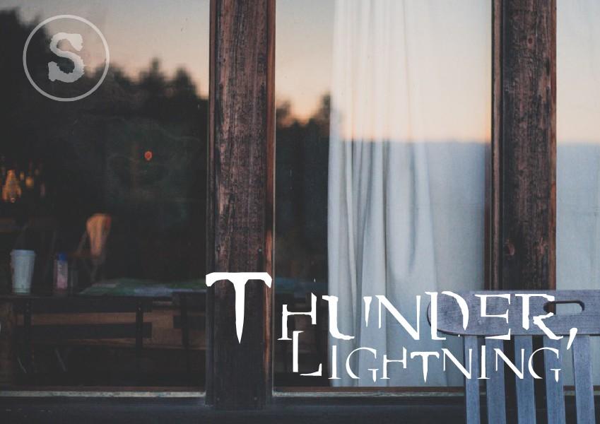 Synaesthesia Magazine Thunder, Lightning