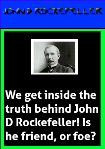 Extra! Extra! All About John D. Rockefeller Issue One