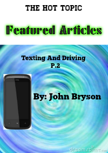 Texting and Driving  Dec. 2012