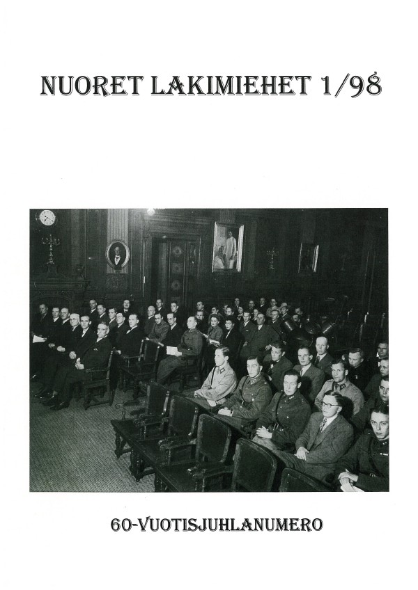 Nuoret Lakimiehet 1/1998 - 60-vuotisjuhlanumero