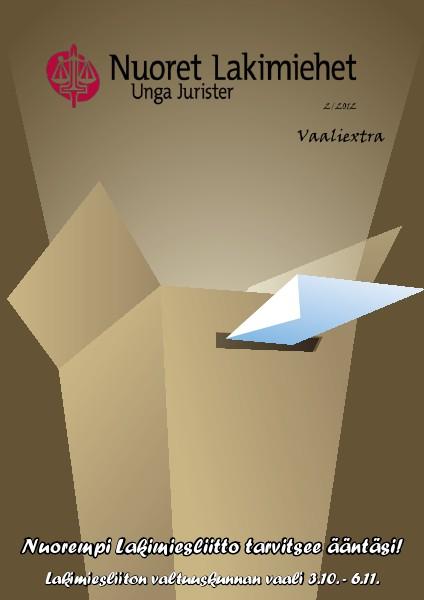 Nuoret Lakimiehet 2/2012 - Vaaliextra