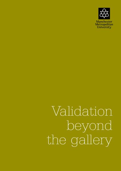 Axisweb Research Validation beyond the gallery
