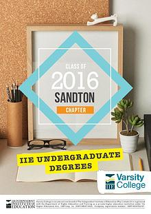 Varsity College Sandton Yearbook 2016