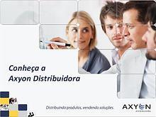 Portfólio de marcas Axyon Distribuidora