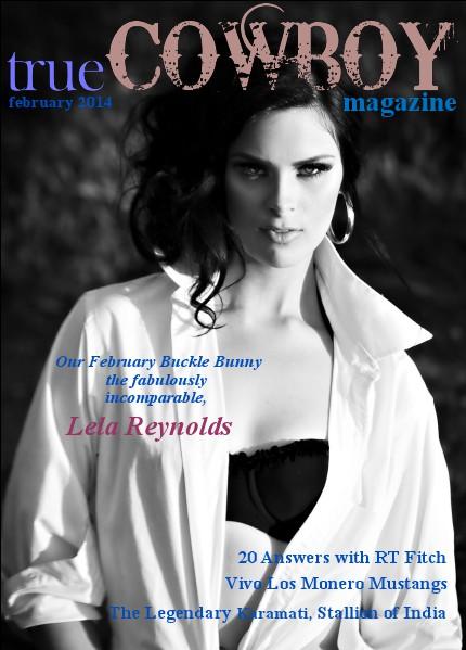 trueCOWBOYmagazine Lela Reynolds 2014