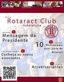 BOLETIM - ROTARACT CLUB DE INDAIATUBA
