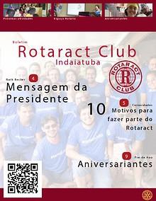 Boletim Rotaract Club de Indaiatuba - Versão Patrocinador e Parceiro